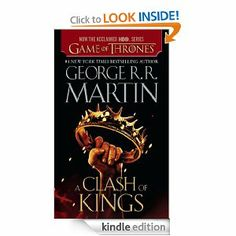 A Clash of Kings: A Song of Ice and Fire: Book Two.  So good! Now to watch Game of Thrones season 2.