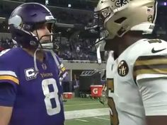 TMZ - Kirk Cousins Tells Teddy Bridgewater How Vikings REALLY Feel About  Him  Cool candid 3fd1fab48