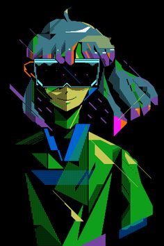 komiyama takashi / hermippe (I participated in this music-video. Vaporwave Wallpaper, Cyberpunk Aesthetic, Pop Culture Art, Fantasy Girl, Psychedelic Art, Horror Art, Pixel Art, Game Art, Art Inspo