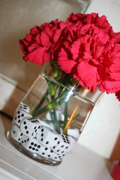 Decor -  Dice in vase; Game Night Party