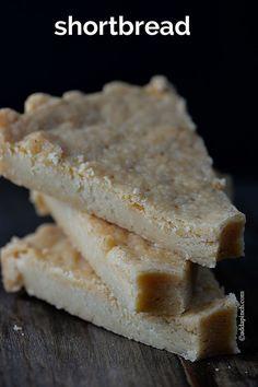Shortbread Recipe | ©addapinch.com