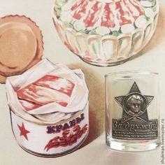 """Стопка """"Октябрёнок. Ностальгия"""". Посуда для крепких напитков. - Мануфактура Жукова - Ярмарка Мастеров"""