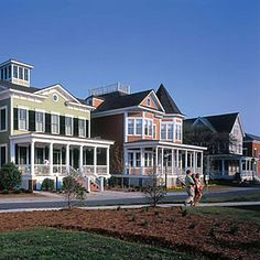 Check out the waterfront community in Norfolk, Virginia designed and built in the tradition of Atlantic Coastal villages.