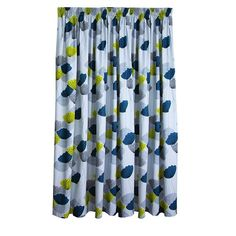 Living & Co Limited Edition Curtains Piper Teal Extra Large 205cm Drop - Promotional - Curtains - Curtains & Blinds - The Warehouse