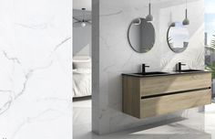 Double Vanity, Tiles, Mirror, Bathroom, Furniture, Home Decor, Room Tiles, Washroom, Decoration Home