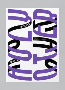 Maybe it's Great / Graphic Design Inspiration, Südpol Poster by Felix Pfäffli, Poster Layout, Typo Poster, Poster Art, Typographic Poster, Art Posters, Movie Posters, Graphic Design Posters, Graphic Design Typography, Graphic Design Illustration