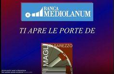 """Invito eventi """"Banca Mediolanum ti porta ai magli"""""""