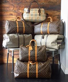 Travel the world in style! Shop all designer luggage on www.mymoshposh.com!