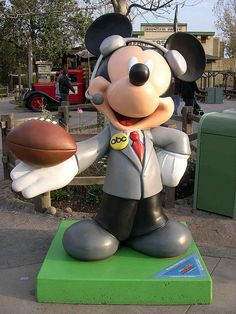 """#44 """"Monday Night Mickey"""" By Al Michaels & John Madden - TV Sports.  $3,500. for Make-A-Wish Foundation of America"""