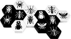 Hive Carbon, Classic, Black & White