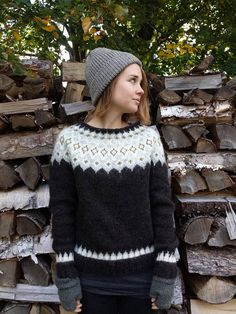 Reserved for Carter Icelandic Sweater / Lopapeysa Hand Knit