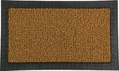 Clean Machine Filligree Welcome 18-Inch by 30-Inch Doormat, Cocoa by Clean Machine. $21.14. Care: shake out dirt and wash with garden hose. Great in snow or hot weather. Made from genuine astroturf. Clean machine technology holds and hides over one pound of dirt. Resists mildew and moisture. The Hardest working doormats in the World. Clean Machine branded doormats are exclusively made with Genuine AstroTurf scraper blades which have been keeping homes clean for over 45-year. T...
