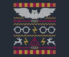Harry Potter stitching