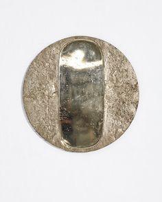 Solar Portal Bronze 100 x 100 x 5cm Edition 1 of 10 Portal, Slate Stone, Wall Mounted Mirror, Deep Space, Solar, Southern, Bronze, Glass, Artist