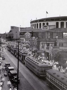 Wrigley Field, 1930s - Chicago Cubs
