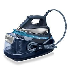 Rowenta Silence Steam Generator Iron, 2400 W - Blue - Low level noise bar pressure 420 g/min steam boost to remove the toughest of creases Steam Online, Bar, Steam Generator Iron, Pressing, Iron Steamer, Silence, Easy Work, Steam Iron, Shopping