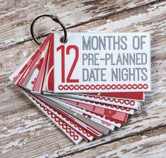 DIY Valentijnsdag: een jaar vol dates in een doosje