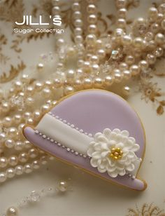 So Pretty Hat Cookie! Do we really have to eat it?