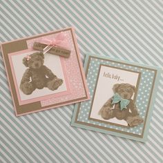 Stampin' Up! Baby Bear Stamp Set