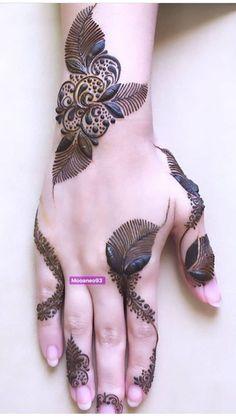 Henna Tattoo Designs Simple, Indian Henna Designs, Latest Arabic Mehndi Designs, Floral Henna Designs, Henna Designs Feet, Latest Bridal Mehndi Designs, Finger Henna Designs, Stylish Mehndi Designs, Mehndi Designs For Girls