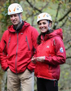 The royal couple looked a far cry from their usual selves as they donned athletic sportwea...