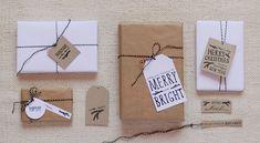 etiquetas gratis para los regalos de Navidad | Escarabajos, Bichos y Mariposas