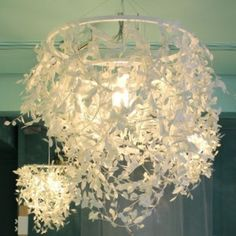 Paper Foresti Pendant Lamp – Allissias Attic & Vintage French Style
