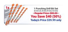 Ultimate Punching Drill Bits Cool Gadgets To Buy, Cool Kitchen Gadgets, Cool Kitchens, Metal Working Tools, Metal Tools, Cool Tools, Diy Tools, Father's Day Specials, Perfect Gift For Dad