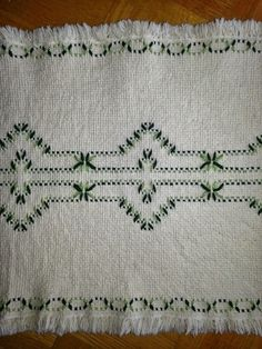 Swedish Weaving Club: Lisa's Afghan: