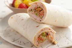 Thai Turkey Wrap
