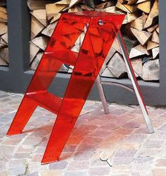 escabeau contemporain UPPER by A.Meda & Paolo Rizzatto Kartell