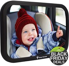 BLACK FRIDAY PRE SALE! 45% OFF   Cozy Greens® Baby Car Mirror   Back Seat Rear-facing Infant In Sight   + FREE Cleaning Cloth & Fun eBook   Luxury Holiday Gift Box   CRASH TESTED   Lifetime Guarantee - http://activelivingessentials.com/baby-essentials/baby-car-seats/black-friday-pre-sale-45-off-cozy-greens-baby-car-mirror-back-seat-rear-facing-infant-in-sight-free-cleaning-cloth-fun-ebook-luxury-holiday-gift-box-crash-tested-lifetime-gu