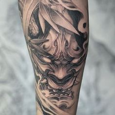 Join us for 30 days of giveaways, and help us tell to f*ck right off. Foo Dog Tattoo Design, Geisha Tattoo Design, Japan Tattoo Design, Armband Tattoo Design, Tattoo Sleeve Designs, Asian Tattoos, Leg Tattoos, Arm Band Tattoo, Body Art Tattoos