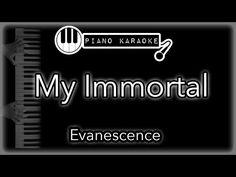 My Immortal - Evanescence - Piano Karaoke Instrumental - YouTube Best Piano, Backing Tracks, Karaoke Songs, Evanescence, Instrumental, Low Key, Sayings, Jealous, Youtube