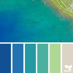 Instagram Post By Jessica Colaluca Design Seeds Jan 14 2017 At 6 22pm Utc Website Color Paletteblue
