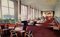 Lounge In The conference Building, United Nations, New York
