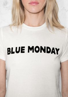 & Other Stories image 4 of Blue Monday T-Shirt in Off white