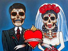 """""""Amor Etneral II,"""" by John Huerta. Courtesy of the artist."""