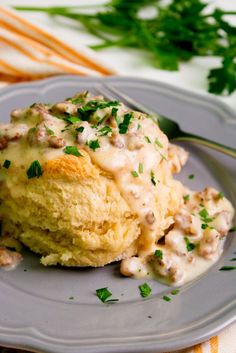 Southern Biscuits and Gravy | PDXfoodlove