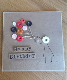 4. Different birthday wishing cards