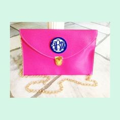 Monogram clutch! Must have!!