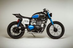 Triumph Street Tracker BIT1 #motorcycles #streettracker #motos | caferacerpasion.com
