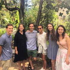 hese lucky SU students met the Oscar winning actress Alicia Vikander and the X-Men star Michael Fassbender at the Botanical Gardens today.