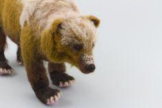 Kyoshi Mino's needle-felted animals via Inhabitat