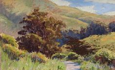 Tennessee Valley pastel landscape painting by Clark Mitchell  pastel paintings, original art, art for sale, landscape paintings, California paintings, plein air, plein air paintings, Tennessee Valley, landscape paintings for sale, canvas artwork for sale, original fine art for sale, original oil paintings for sale, framed wall art, painted landscape, great landscape artists, scenery paintings, beautiful landscape paintings,