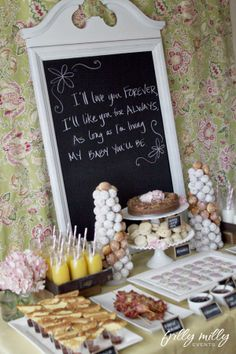 Great ideas for brunch!!