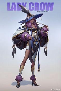希望我的脑子也可以进牛奶_( : 」∠)... Archer Characters, Dnd Characters, Fantasy Characters, Female Characters, Female Character Concept, Character Poses, Character Creation, Character Art, Fantasy Inspiration