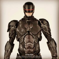 "REVEALED: threeZero's official ""RoboCop v1,"" ""RoboCop v3"" & ""ED-209"" fully-painted prototype figures!"