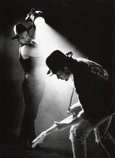 Bono & The Edge, photographed by Anton Corbijn