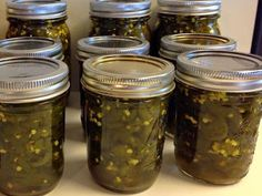 Small batch Cowboy Candy - Check this out! - Canning Homemade! Candied Jalapenos, Pickling Jalapenos, Cowboy Candy, Pickle Vodka, Pickle Relish, Canning Vegetables, Veggies, Jalapeno Recipes, Jelly Recipes
